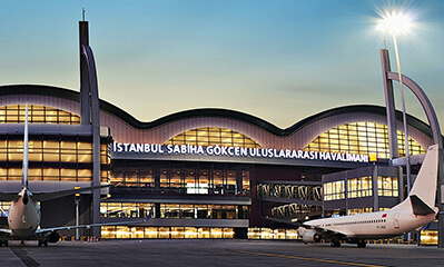 İstanbul Sabiha Gokcen Airport International Flights